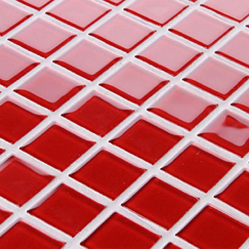 dessins de verre rouge dosseret tile art mosa