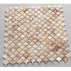 Ormeau coquille tuile dosseret Mèrede design unique mosaïque Perle en poissons échelle douches cuisine dosseret à bas prix tuiles ST100