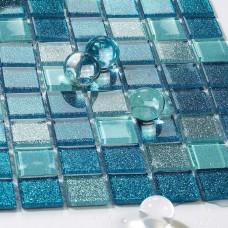 Mer verre tuile dosseret idées salle de bains mosaïque miroir feuilles douche mur carreaux design discount cuisine dosseret de carreaux CGT127