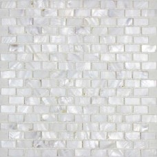 Mère de perle tuile dosseret blanc coquille d'eau douce mosaïque métro mur décor coquillage naturel carrelage douche MPBK03