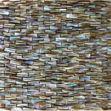 Dosseret de carreaux Perle en mère cuisine marron du métro coquille carreaux salle de bain sol carreaux coquillage sans soudure mosaïque naturelle mur FWS002