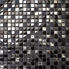 Crackle cristal mosaïque verre de placage argent Diamant tuile dosseret tuile de marbre naturel miroir dosserets tuiles SGT66B