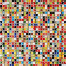 Copeaux petit de porcelaine multicolore carreaux cuisine plancher carreaux de mosaïque en céramique PMT401 irisé de salle de bain mur dosseret de carreaux
