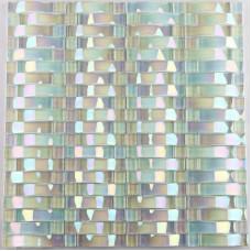 Feuilles de carrelage mosaïque verre irisé arch conceptions de dosseret de mosaïque cuisine décor de carreaux de mur motifs CGT89 de verrouillage